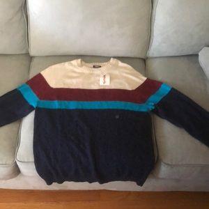 Striped men's sweater
